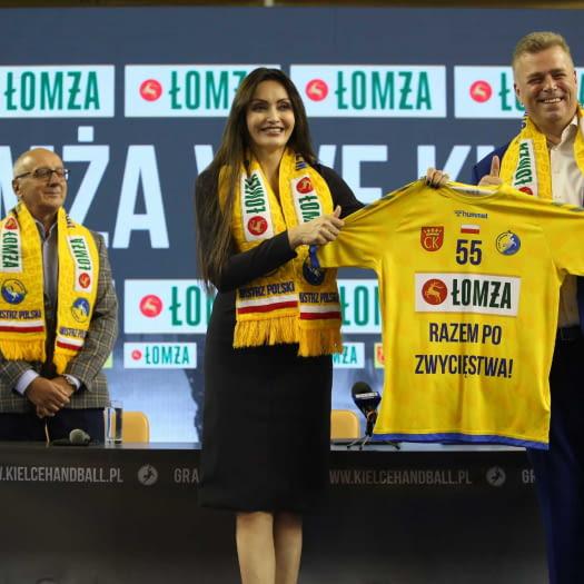 Marka Łomża sponsorem tytularnym Mistrzów Polski!