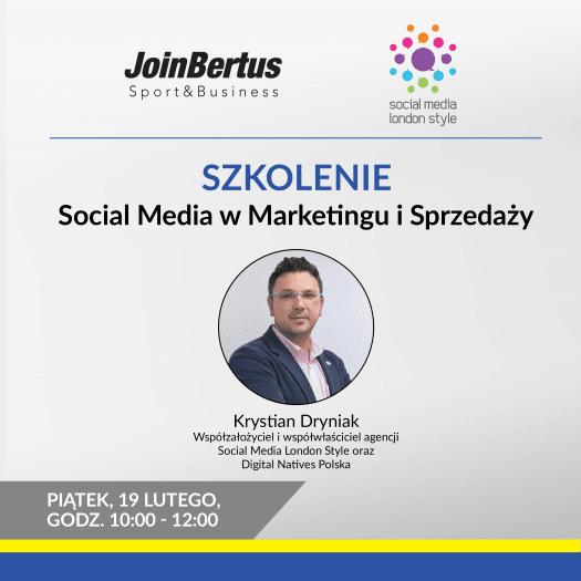 """Szkolenie on-line """"Social Media w Marketingu i Sprzedaży"""""""