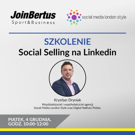 "Szkolenie on-line pt. ""Social Selling na Linkedin"""