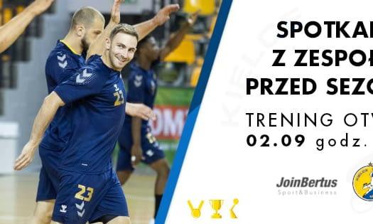 Trening otwarty i spotkanie z zawodnikami drużyny Łomża Vive Kielce