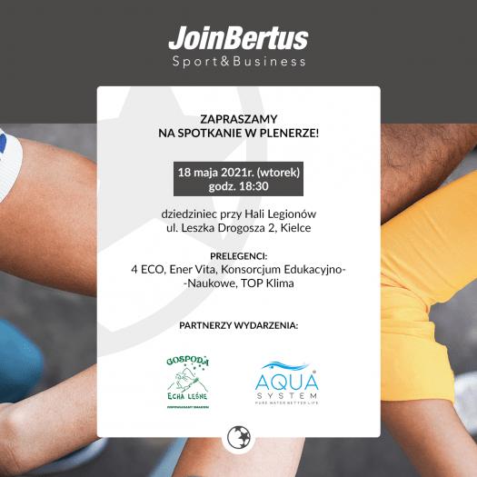 Spotkanie networkingowe JoinBertus - idziemy w plener!